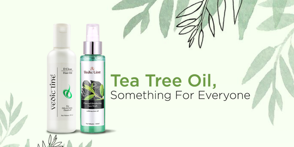 Vedicline shares the benefits of tea tree oil for hair & skin care tips to get the radiant glow and healthy hair. Follow vedicline.com for more expert tips.