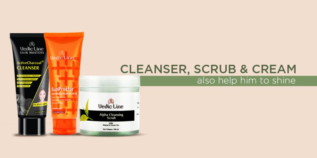Cleanser , scrub
