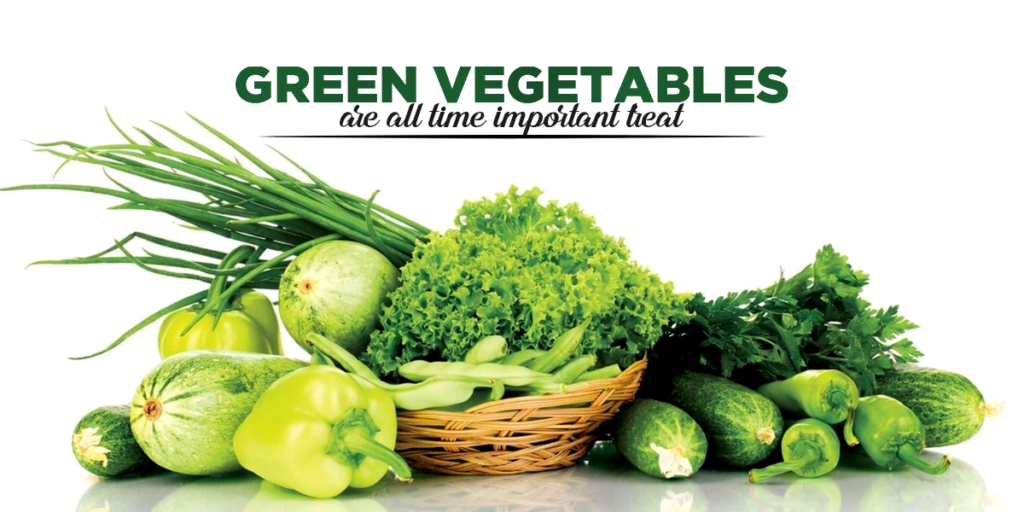 Green vegetable makes your skin young and glowing - try to eat more green vegetables