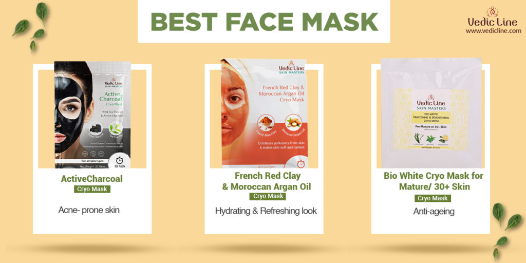 best natural face mask for glowing skin-vedicline