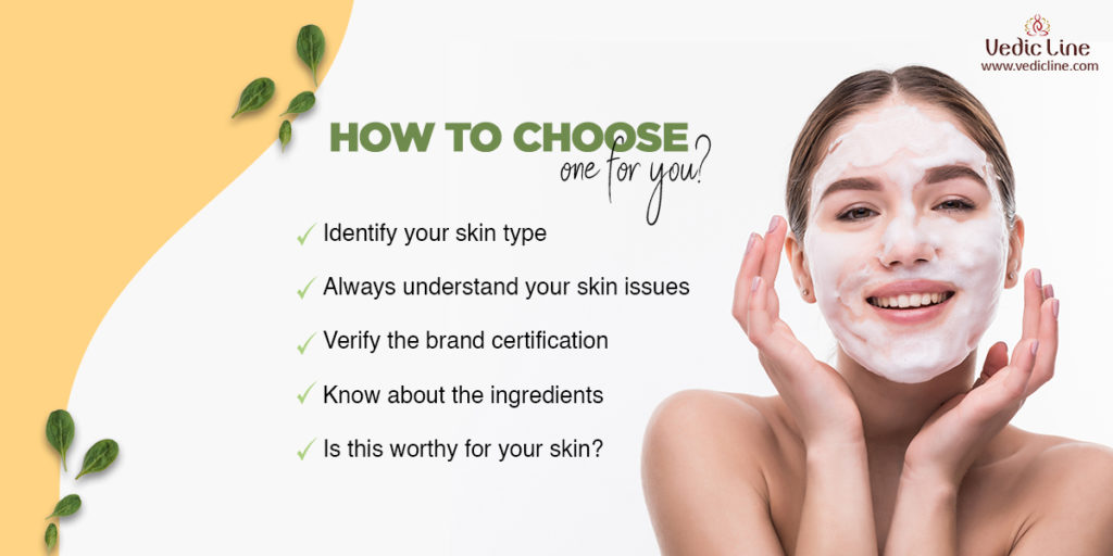 How to choose natural face mask for your skin-Vedicline